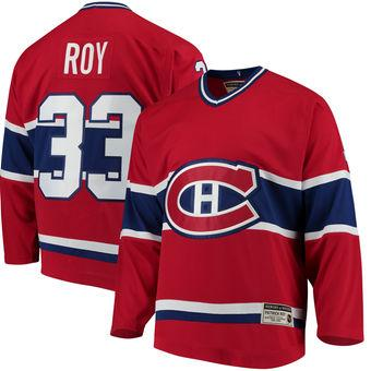 timeless design 172af c4a23 2019 2018 Nhl Hockey Jerseys Cheap Custom Men'S Montreal Canadiens Patrick  Roy CCM Red Heroes Of Hockey Authentic Throwback Jersey Store Sports From  ...