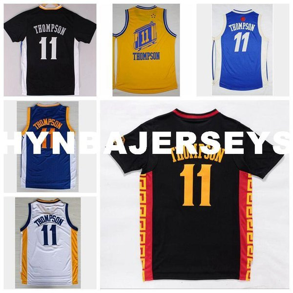 reputable site a73e2 267cd 2018 Cheap Men'S #11 Klay Thompson Jersey Yellow Black White Blue Christmas  Day Basketball Jerseys Embroidered Logos Top Quality From Hyretrojersey, ...