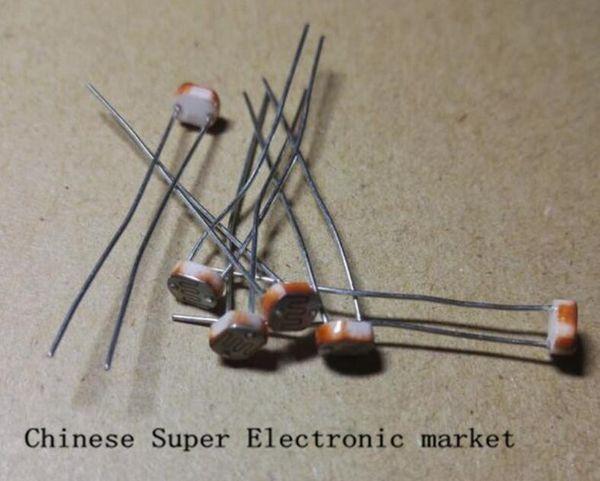 10 PCS 5MM Light Dependent Resistor Photoresistor GL5537 LDR