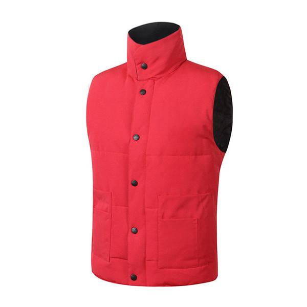 top popular fast shipping Brand winter jacket Mens FreeStyle Vest Goose Vest Down Vest Down jacket 7 color 2019