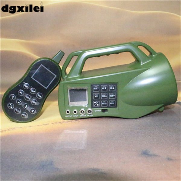 hunting bird MP3 player electronic remote control pigeon decoy