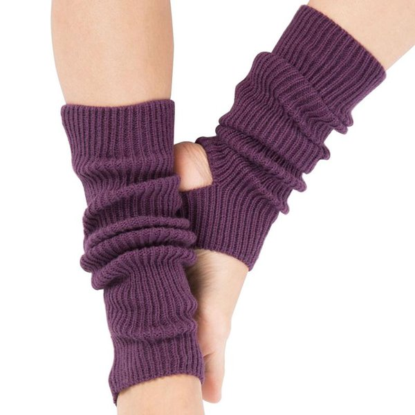 Gym Fitness Dance Exercising Woman Girls Professional Yoga Socks Boots Cover Female Calf Knitted Leg