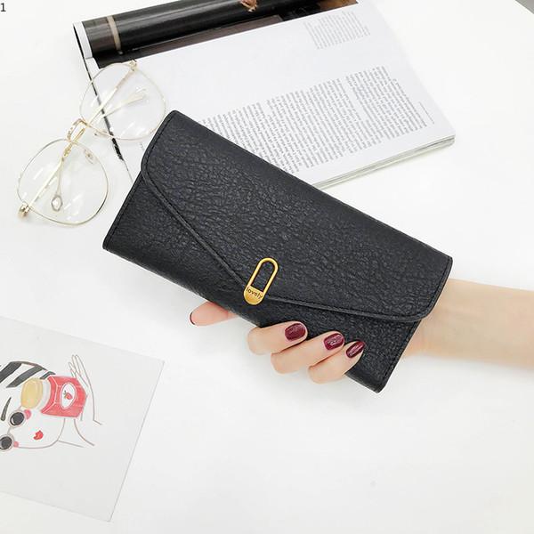 Fashion Women Wallets Lady Simple Long Purse Lady Wallet Woman Handbag Long Lady Wallet Card Holder Bag