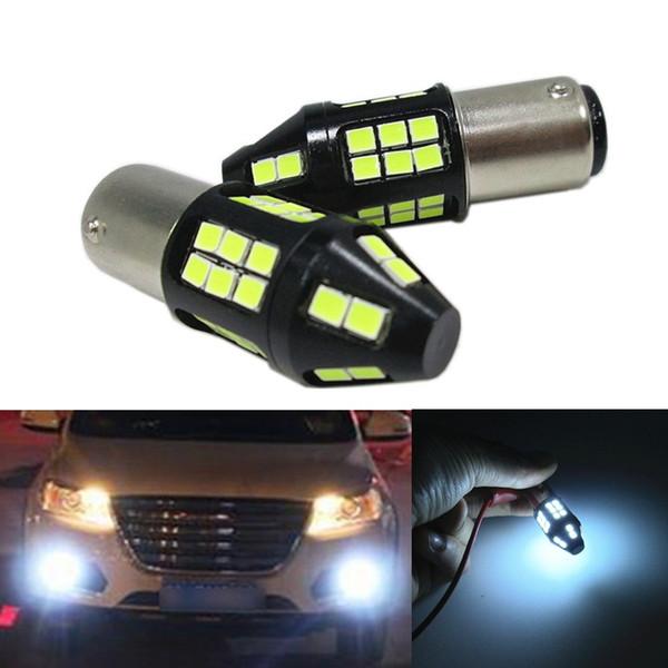 1157 BAY15D P21/5W Super Bright 40W 2835 40SMD Car LED Light Bulbs White Canbus white for Brake Turn Signal Reverse Lights
