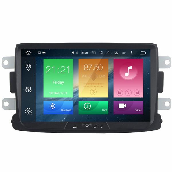 "COIKA 8"" Android 8.0 System Car DVD Radio For Renault Duster Captur Logan Sandero Dacia Duster Lada GPS Navi Stereo Octa Core 4+32G RAM"