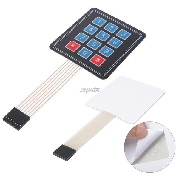 Matrix Array 12 Key Membrane Switch Keypad Keyboard For Avr 4 X 3 Z09 Drop  Ship Online Virtual Keyboard Pc Keyboard From Bingju, $34 98| Dhgate Com