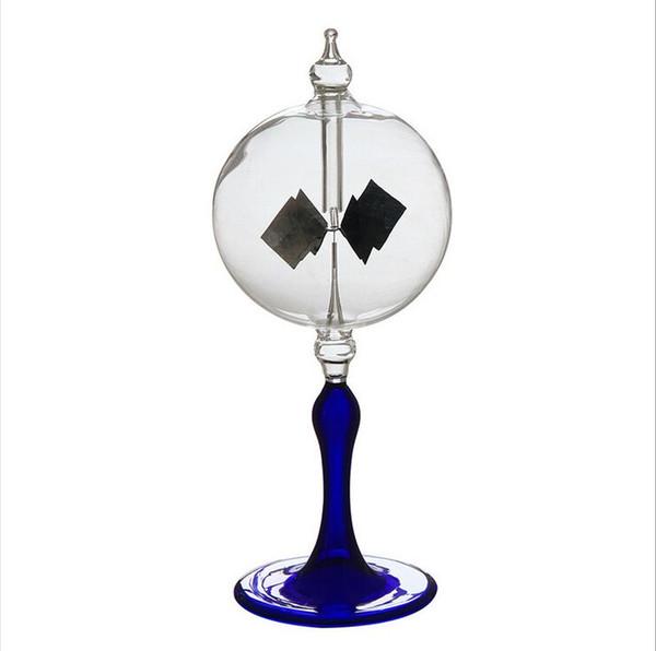 16-20 cm 4 Klingen Rotierenden Glas Windmühle Solarbetriebene Crookes Radiometer Lichtmühle / Pädagogische Lehr Studie Werkzeug / Office Home