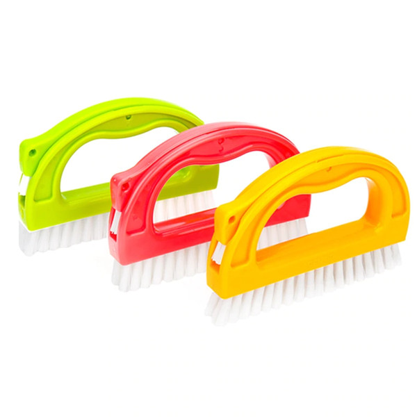 Multifunctional Cleaning Brush Floor Wall Tile Sewing Brush Tile Grout Cleaner Cleaning Tool For Kitchen