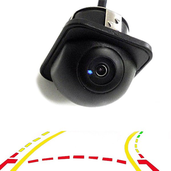 Mini Intelligent Dynamic Trajectory Tracks Car Rear View Camera Parking Wide Angle Night Vision Front Viewside Reverse Backup Camera