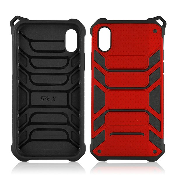 Latest Armor Hybrid for iphone x luxury case Spiderman duty phone case 2 in 1 TPU+PC shockproof mobile case cover back shell