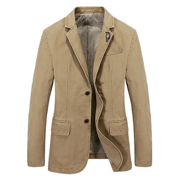 Brand Newest Good Quality Spring Men Casual 5 Color Suit Jacket Genuine Security Men Fashion Cotton Suits Blazer Plus Size S-4XL