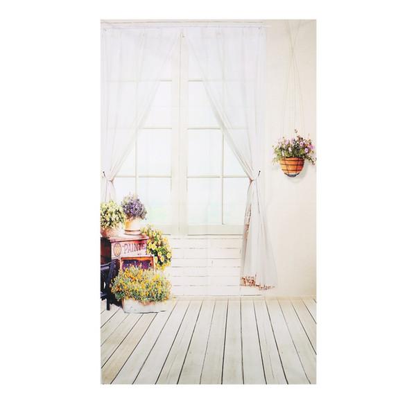 3x5FT cortina de janela flor estúdio de fotografia backdrops foto fundo adereços