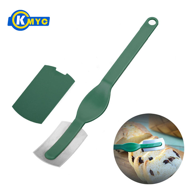 KMYC Arc Bread Knife Baguette Cutting French Toas Cutter Curved Bread Cutter Baking & Pastry Spatulas Bakeware Tools