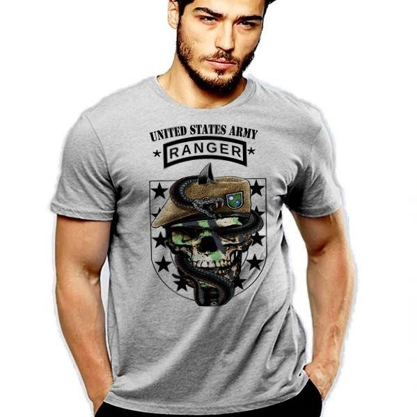 Army Ranger T Shirt Rangers Lead The Way Sua Sponte Hardcore