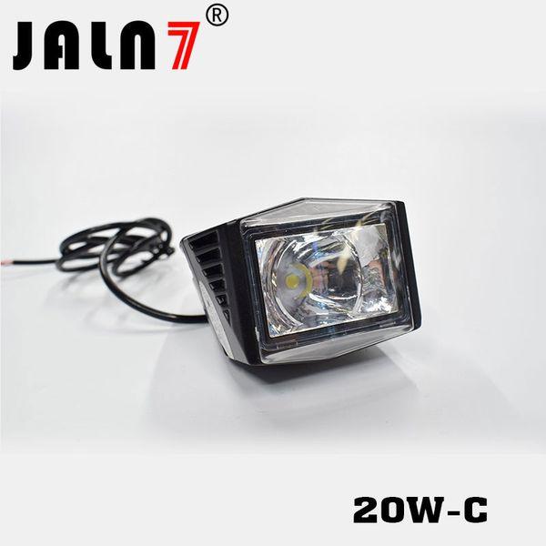 JALN7 2 STÜCKE 20W-C Motorrad Led-scheinwerfer 12 V 2200LMW Motorrad Scheinwerfer Scheinwerfer Moto Spot Scheinwerfer Lampe DRL