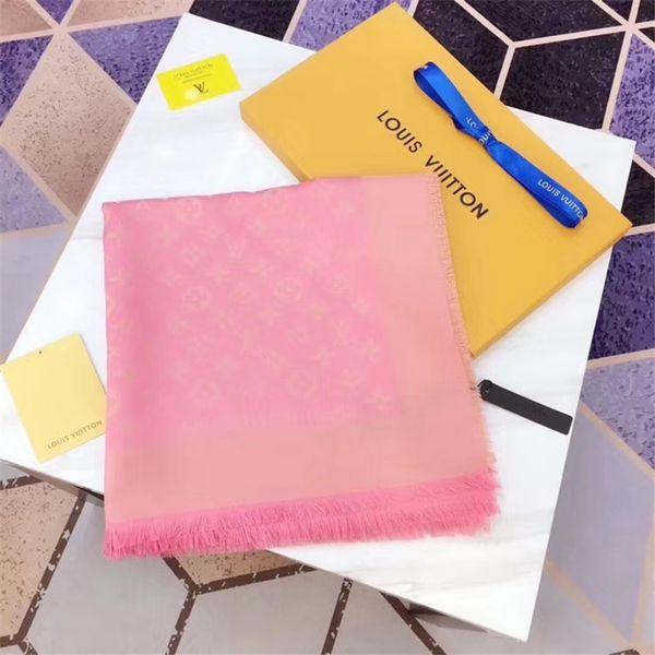 Bom Qualtiy Cachecol para a mulher de lã de cashmere fio de ouro cachecol Lenços Das Mulheres Da Marca lenços quadrados de moda tamanho 140x140 cm SK883