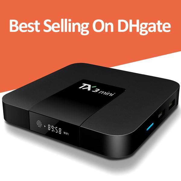 TX3 Mini Android 7.1 TV Box Amlogic S905W Quad Core 1GB 8GB Smart Media Player Soporte 2.4G Wifi 4K Ultra HD