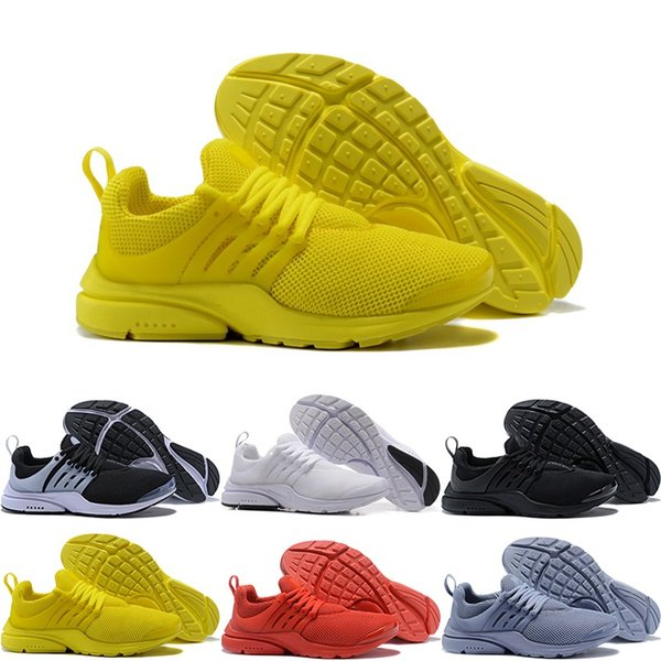 Best Quality Prestos 5 Running Shoes Men Women Presto Ultra BR QS Yellow Pink Black Oreo Outdoor Fashion Jogging Sneakers Size US 5.5-12