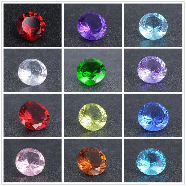 240pcs floating charms locket Gadgets 12 color diamond crystal stone A016