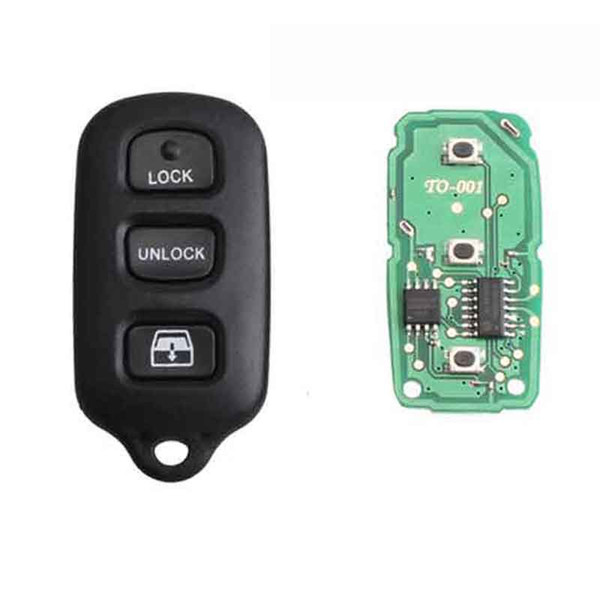 2 Car Key Fob Remote Shell Case For 2005 2006 2007 2008 Toyota Sequoia