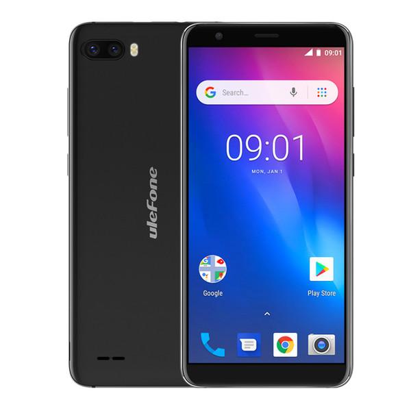 5.5 Inç Ulefone S1 Smartphone Android 8.1 Çift Arka Kamera MT6580 Dört Çekirdekli 1 GB RAM 8 GB ROM Yüz KIMLIK 8MP + 5MP 3G Smartphone