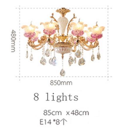 8 luzes
