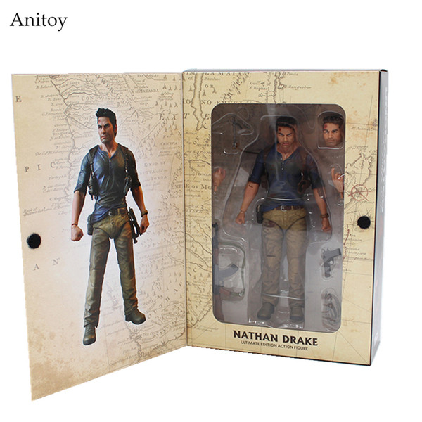 2019 Model Toy Neca Uncharted 4 A Thief S End Nathan Drake Ultimate Edition Pvc Action Figure Collectible Model Toy 7 18cm Kt3423 From Toy Abc 25 0