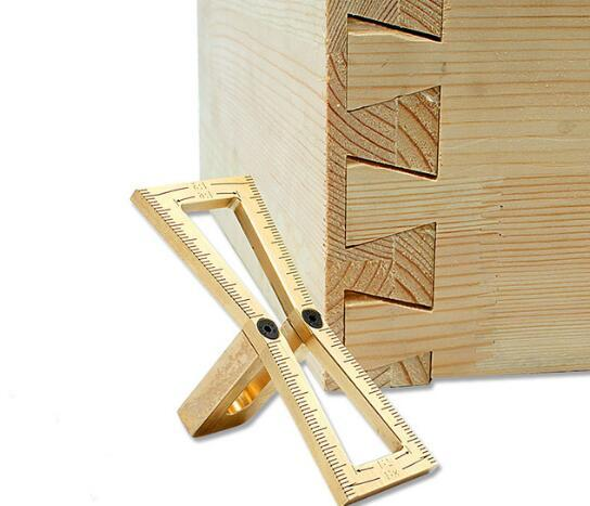 2019 Woodworking Tools For Carpenter Copper Hand Cut Wood Joints Gauge Dovetail Marker Guide From Winniehuang2016 35 18 Dhgate Com