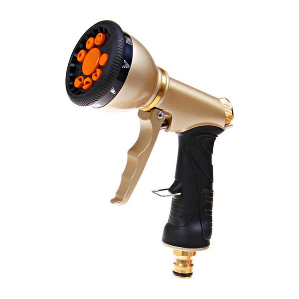 Pistola de agua multifuncional para riego de manguera de jardín Pistola de agua pistola Pistola de agua de alta calidad de pulverización Herramientas