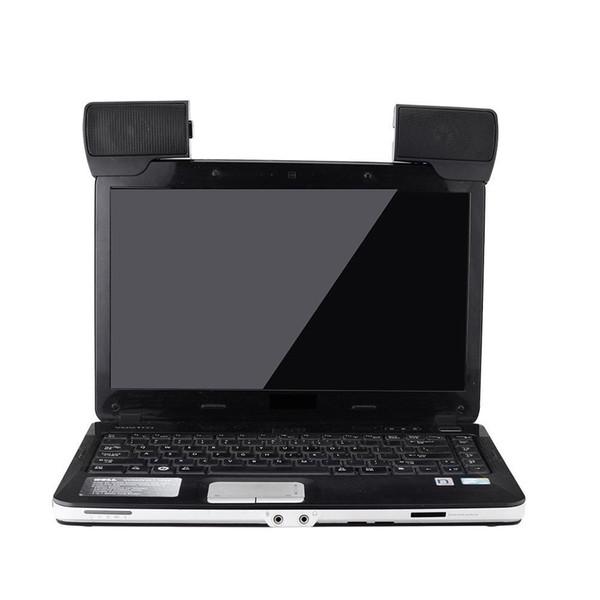 Mini Portátil USB Stereo Speaker Soundbar para Laptop Portátil Mp3 Phone Music Player PC Ordenador con Clip Negro