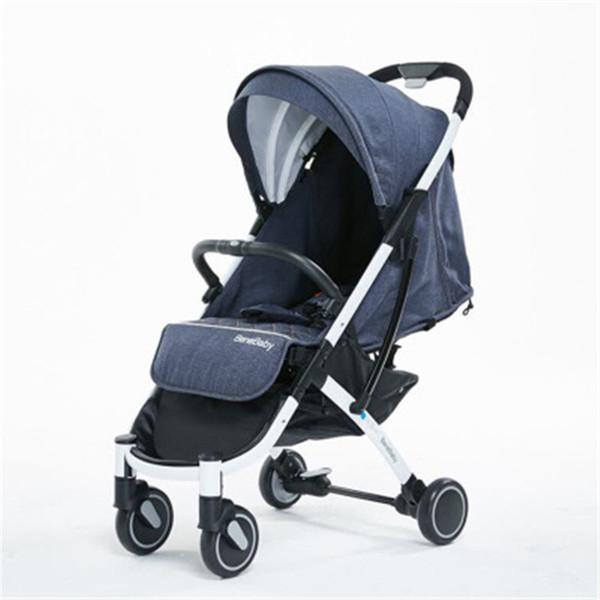 Free Shipping Portable Baby Stroller Can Sit Lie Down Folding baby Car Bebek Arabasi Carriage infant Buggy Pram