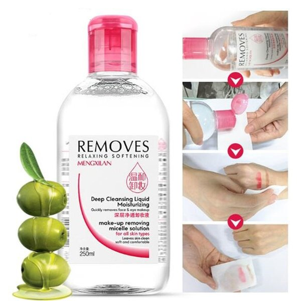 Wholesale-Ladies Remover Clean Oil Essence Deep Cleansing Oil Makeup Remover Skincare facial cleanser DHL free shipping
