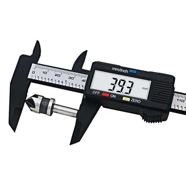 top popular 2018 Sale QST New Arrival 1pc 0&150mm 6 Inch Lcd Digital Electronic Carbon Fiber Vernier Caliper Gauge Micrometer Measuring Tools 20pcs 2021