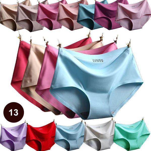 best selling Hot High Quality Sexy Underwear Women Seamless Panties Tanga Sexy Briefs Silk Calcinha Blankholding Comfort Panties