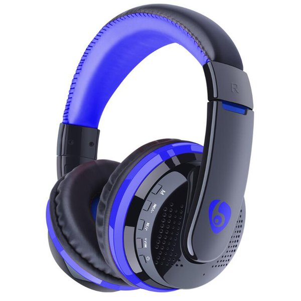 Bluetooth Headphone MP3 Player, 3.5mm AUX Cable FM Card MP3 Headset, Wireless Bluetooth Earphone For Phone PC TV Pod Game