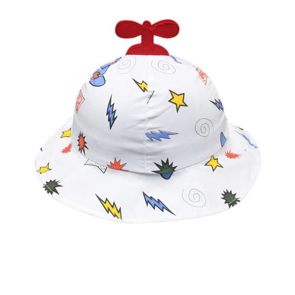 Lovely Cute Toddler Baby Kids Hats Boys Girls Cartoon Pattern Bucket Hats Summer Sun Helmet Cap Children Kids #YL5