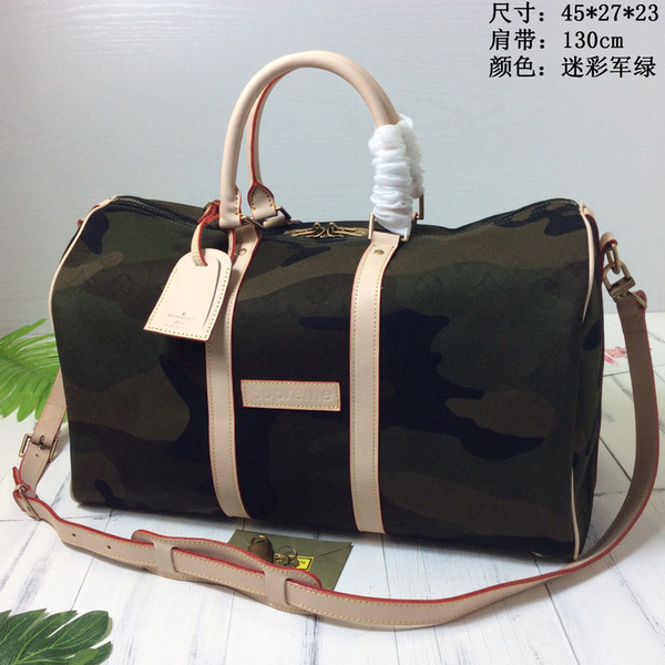 93b69831d 2019 New Designer Keepall High Quality Mens Travel Bags camouflage Duffle  Bag Mens And Womens Duffle