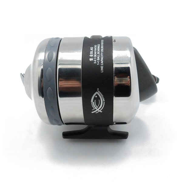 Archery Fishing Spinning Reel Spincast Reel Gear Ratio 3.4:1 for Compound Bow