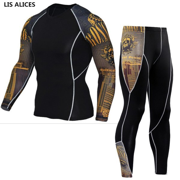 LIS ALICES New Winter Thermal Underwear Set Men Brand Anti-microbial Stretch Mens Autumn Thermo Underwear Female Warm Long Johns