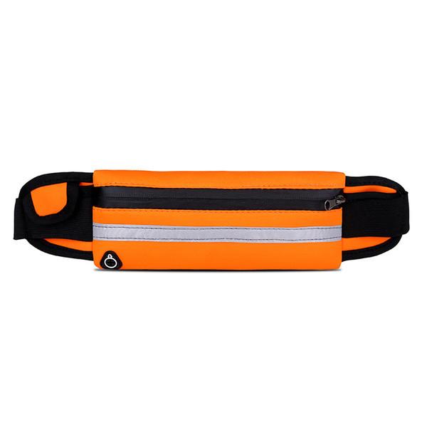 Unisex Outdoor Waist Sports Bag Small Running Bag Phone Coins Carry Waterproof Adjustable Sports Zipper Pouch For Men Women