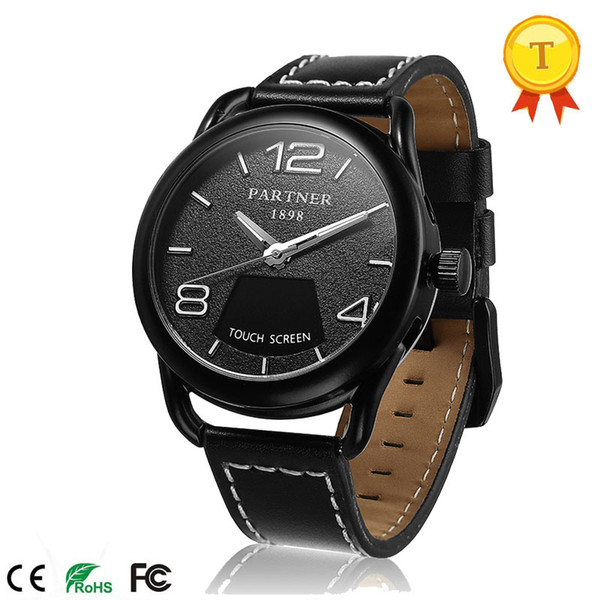 2018 New Luxury Man Smart Watch With App Control Healthy Sports Monitoring Best Gift For Business Watch Birthday