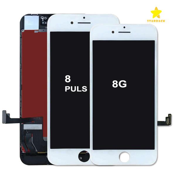 Per iPhone 8/8 Plus Sostituzione schermo LCD Grado A +++ Display LCD Touch Screen Digitizer Touch Panel con telaio completo