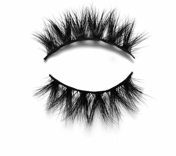 Wholesale-3D bristle fake eyelashes single pair and five pairs of eyes hair thick cross 3d false eyelashes 3D03