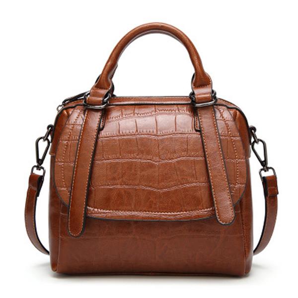 Brand Bags For Women 2018 Ladies Hand Bags Alligator Pattern Purses And Handbags Shoulder Crossbody For Women Designer
