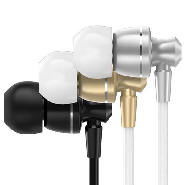 PTM D11 Auriculares Super Bass In-ear Con Mic Control de volumen Auriculares de metal para teléfonos Iphone Xiaomi Samsung MP3 Mejor calidad
