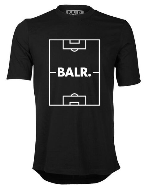 Quality 18 Balr Round Edge Football Yard OTC T-shirt Football field print Wholesale Free Shipping