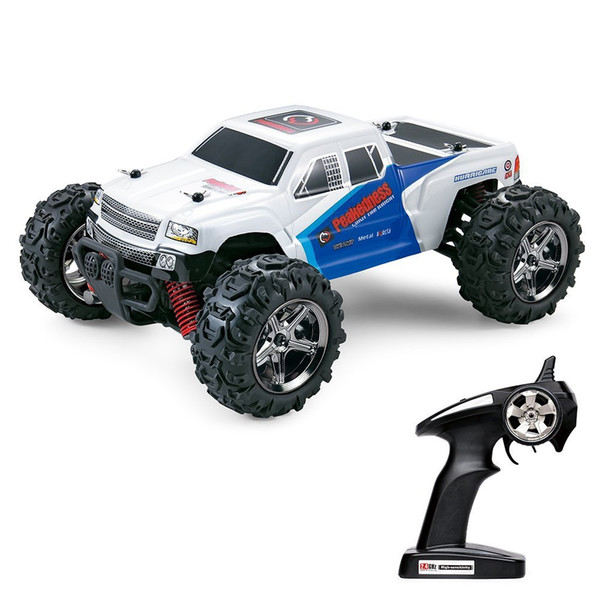 SANTSUN RC Remote Control Cars Off Road High Speed 4WD 1:24 Scale 50M Remote Control 2.4GHz Electric Vehicle Buggy Truck