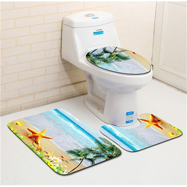 Pleasant 2019 Hot Sale Soft Three Piece Set Toilet Seat Cover U Shaped Overcoat Wc Cover Home Decor Bathroom Toilet Mats Closestool Merletto From Shefuluoerly Inzonedesignstudio Interior Chair Design Inzonedesignstudiocom