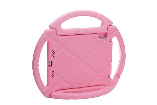 Steering Wheel Kids Safe Soft EVA Foam ShockProof Handle Protective Case Stand For iPad 2 3 Air PRO 9.7 2017 ipad Mini 2 3 4 tab p3200 t110