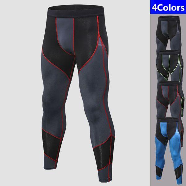 Men Running Tights Men Sports Leggings Sportswear Long Trousers Yoga Pants Winter Fitness Compression Sexy Gym Slim